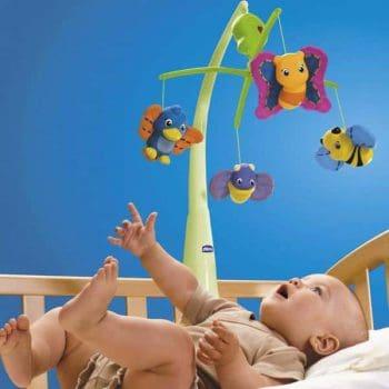 karuzela do łóżeczka dla niemowląt